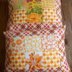 almofada market laranja