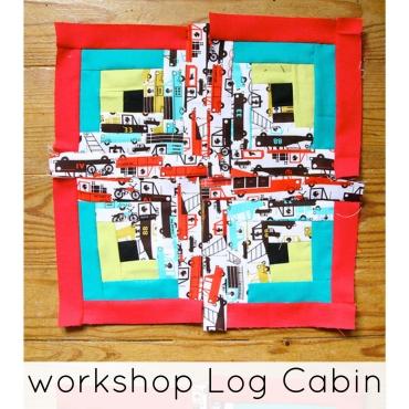 workshop log cabin