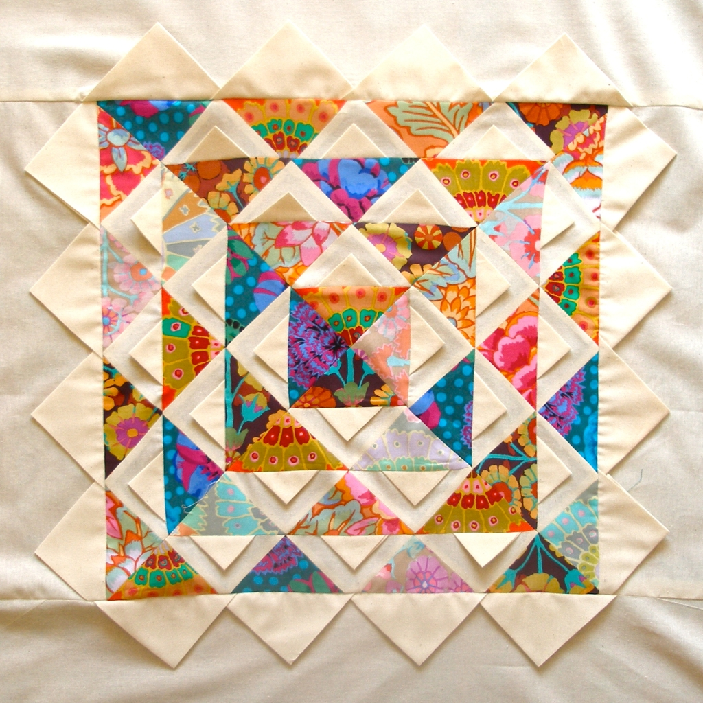 lotus (mandala) quilt