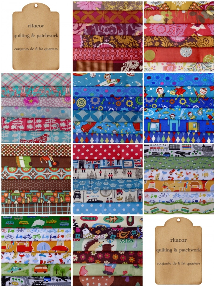 conjuntos de fat quarters