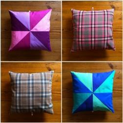 almofadas pinwheel