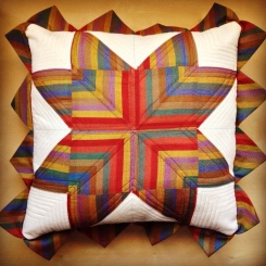 almofada striped star