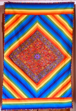 rauinbow quilt
