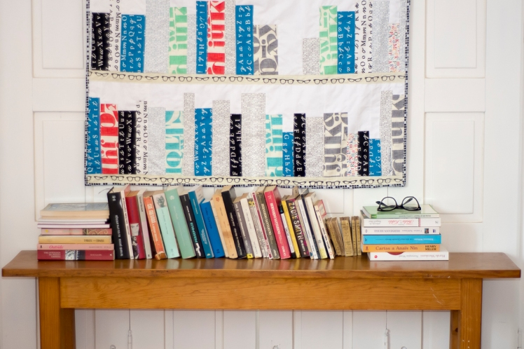 bookshelf quilt