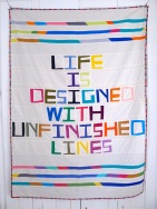 life is designed with unfinished lines