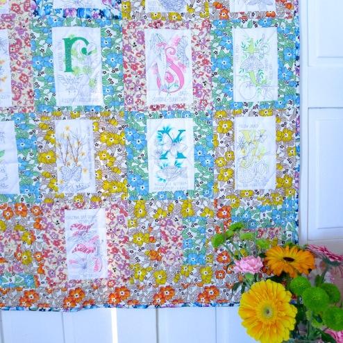 alfabeto de primavera