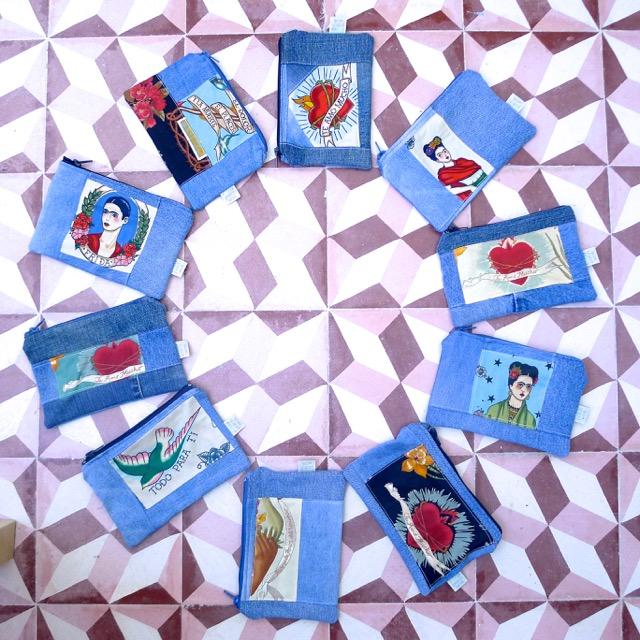 bolsas de ganga Frida Kahlo
