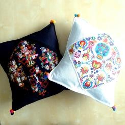 almofadas calaveras