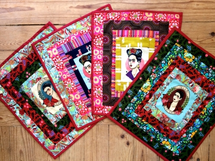 mini-quilt frida
