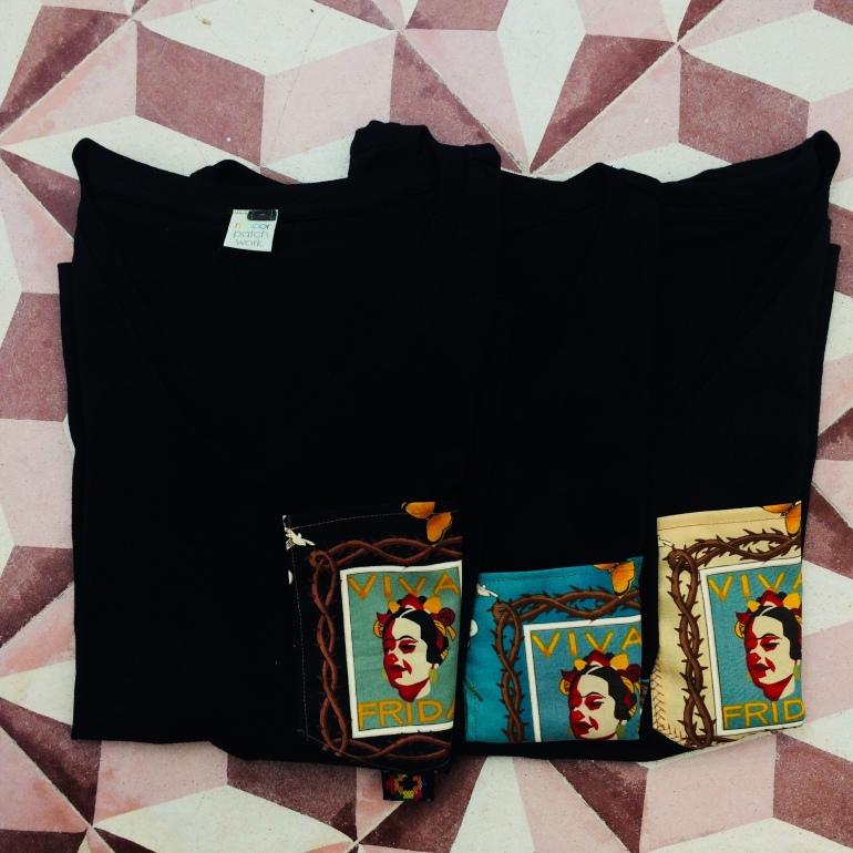 t-shirt Viva Frida