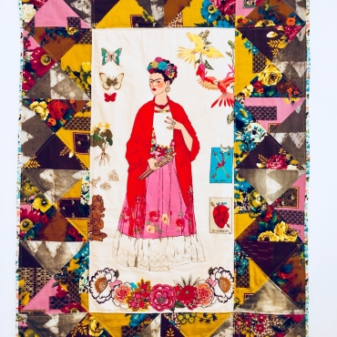 painel Frida bege